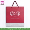 2014 new fashion royal blue ribbon handle paper gift bags