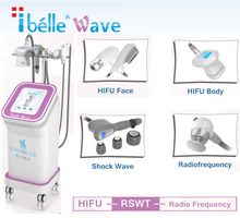 Mechanical Shock Wave RF HIFU Device For Anti-age Prevention