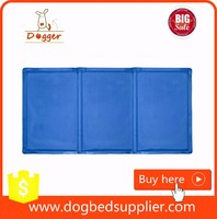 heat resistant soft gel cooling pet bed / reusable dog cooling mat