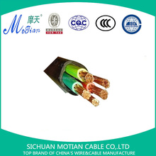 5 cores copper wire cable xlpe insulated pvc sheathed power cable 4x50+1x25mm2 electric cable wire