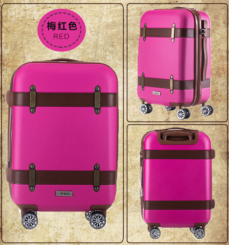 High quality travelling luggage trolley bag /suitcase