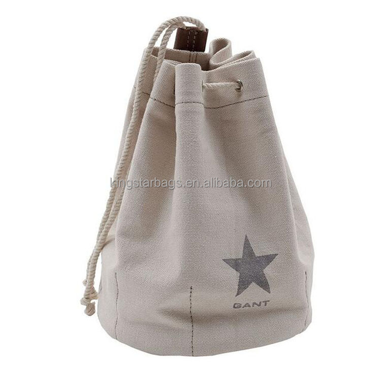 Small Canvas Draw string Toilet Bag