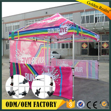 customized design 4x4 pop up canopy