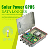 Solar Power gprs data logger online gps gprs tracking system