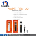 Original Vape Pen 22 kit by Smok Vape Pen 22 dual coil 0.3ohm