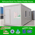 mobile container house for extensive application