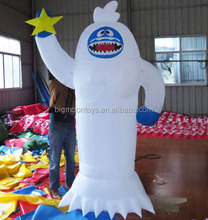 20ft the abominable snowman inflatable for Christmas/ inflatable christmas snowman decorations/ inflatable the Himalayas snowman