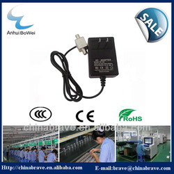 MMDS power supply 24V/1A with us style plug for Barbados market