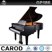 For sale price black baby grand piano GP-186 in black finish