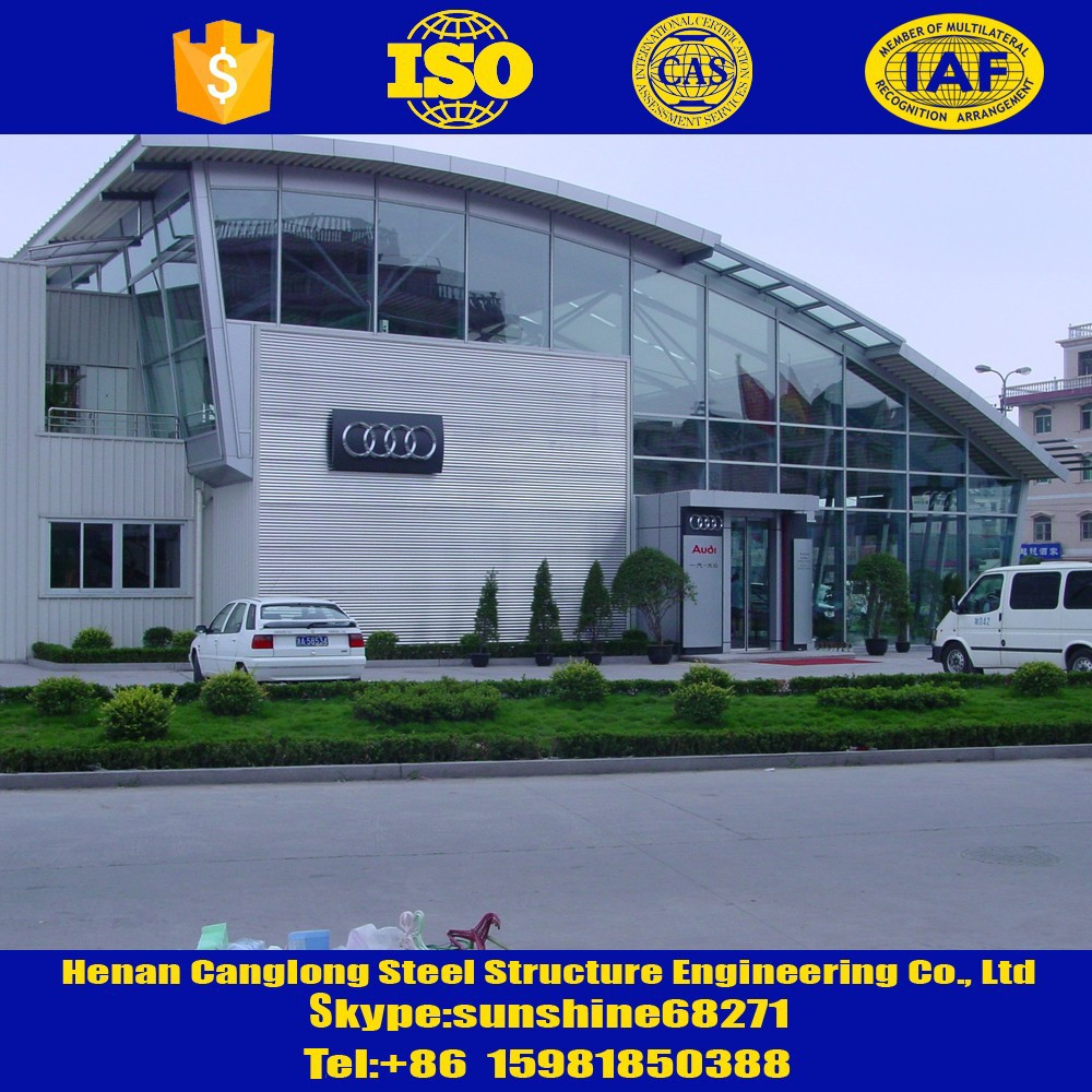Steel structure 4S car showroom