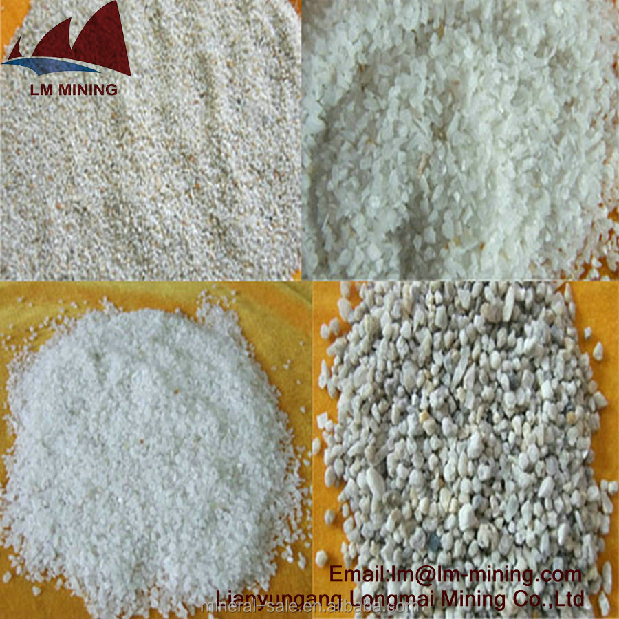 Fine Silica Sand/White Quartz Sand For Glass Industry