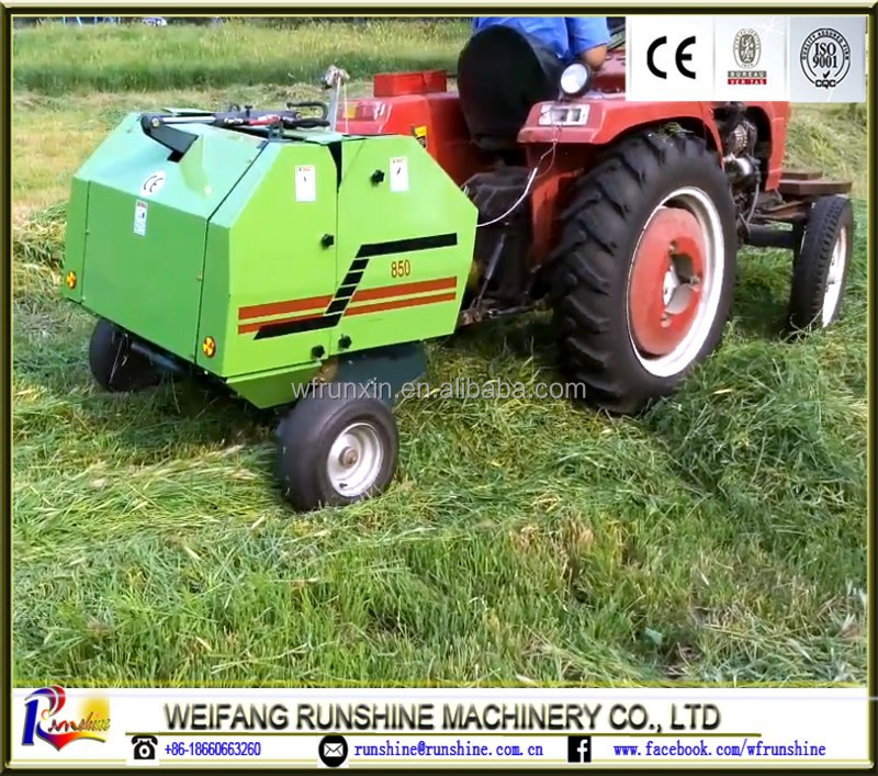 CE certificated RXYK0870 Mini round baler
