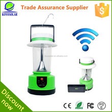 New design rechargeable solar lantern led, solar lamp with 3g wifi function