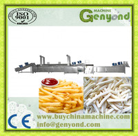 Best small scale frozen french fries production line/pringles potato chips machine with best price