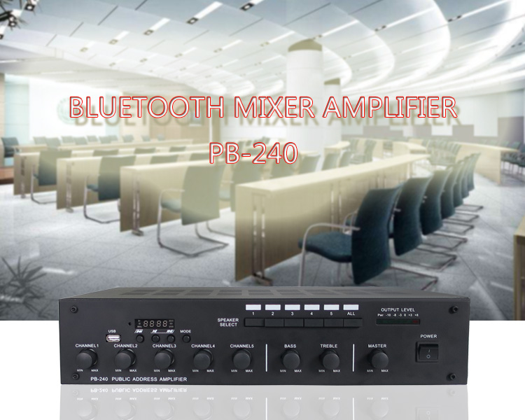 CE FCC certificate wholesale home audio using multi channel power bluetooth amplifier
