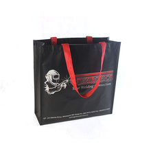 Promotional Top Quality Plastic Pictures Printing Non Woven Shopping Bag
