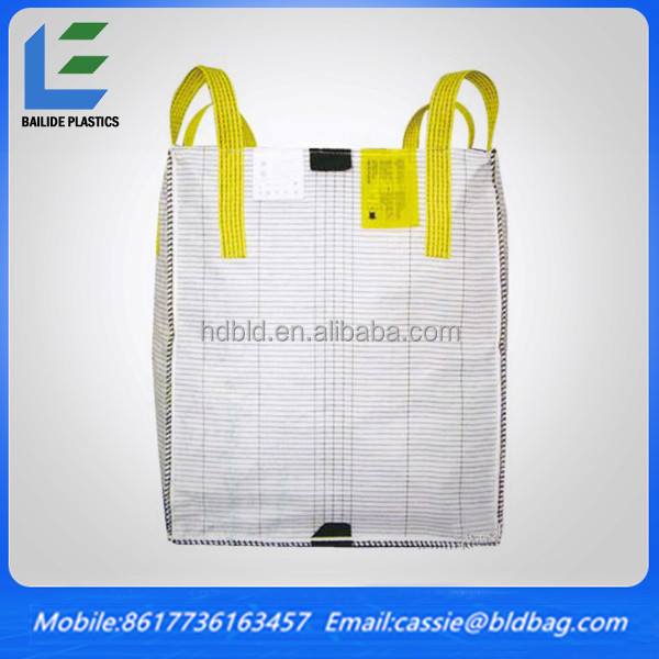 Sling FIBC Bag for Cement, Sling Big Bag for packing cement,FIBC Cement jumbo sling bag