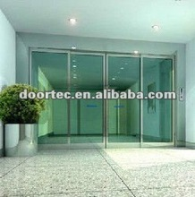 automatic sliding doors with access control