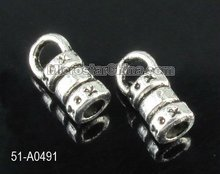 Fashion hot sale antique alloy end cap for leather cord 2012 newest design