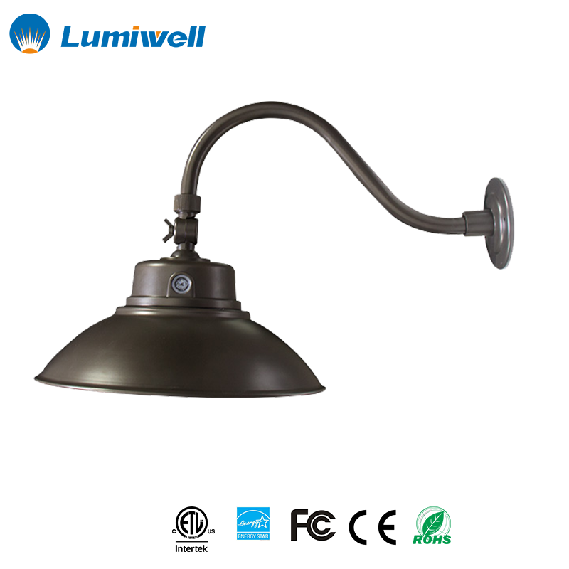 LED Wall lights Outdoor led light flexible gooseneck up and down wall light led