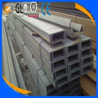 Wholesale China prime hot rolled A36 MS steel channel sizes