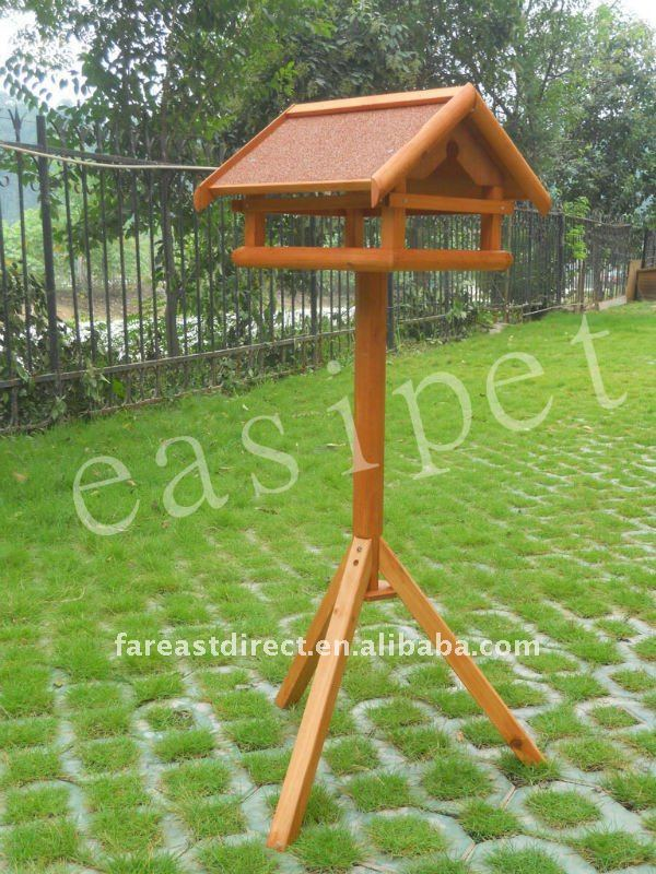 Wooden Bird Table House