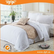 100% white plain white hotel life sheet sets