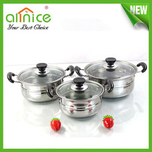 couscous stock pot /best selling products in nigeria /stainless steel indian hot pot set/