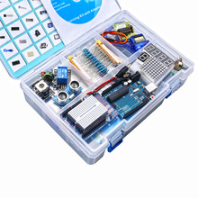 Uno R3 Ultimate Kit and Update Starter Kit with LCD1602 + Game Joystick Module + 400 Point Breadboard + Resistance