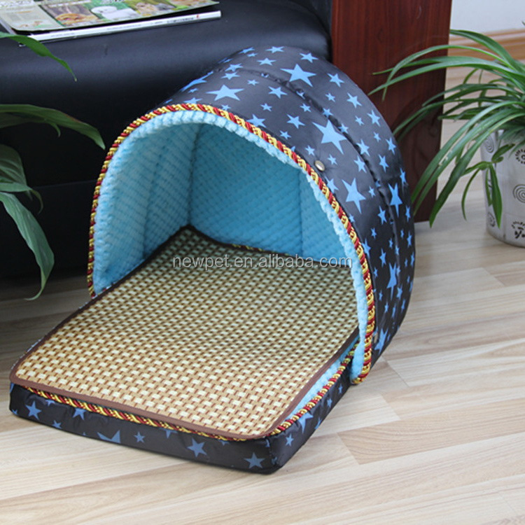 Popular products new fashion shell shape folding dog cage for house