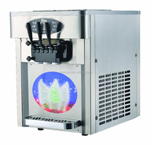 2017 High quality CE approved table top soft serve ice cream machine