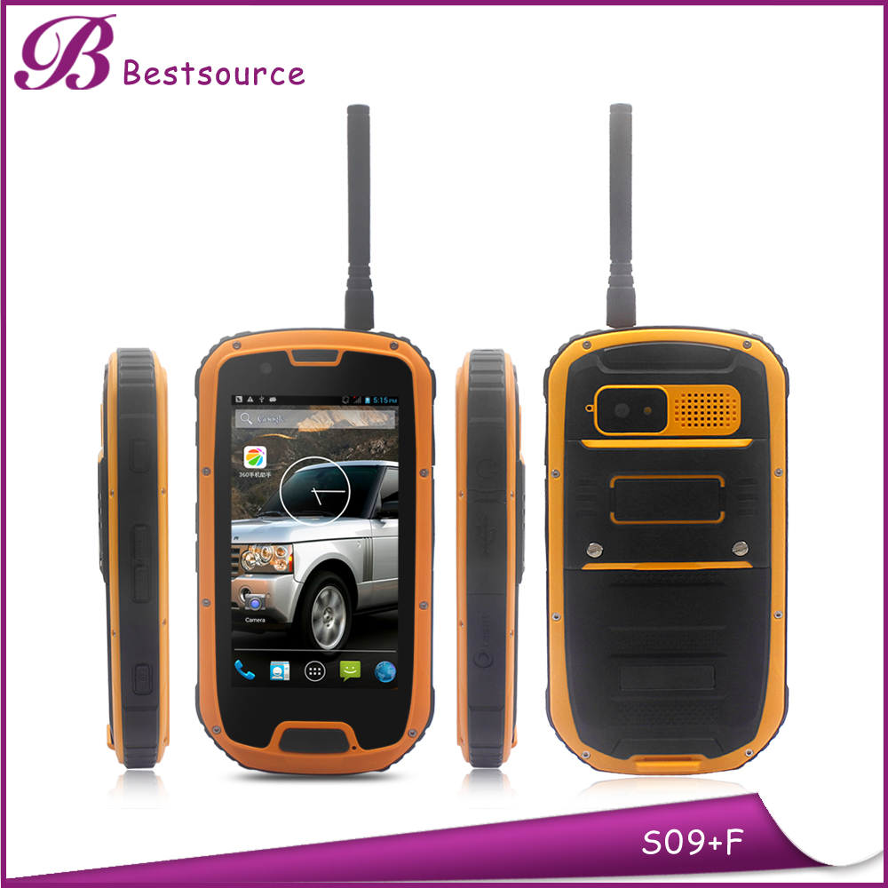 Waterproof Outdoor Rugged Phone 4.3'' MTK 6589W Quad Core 3G /GPS/BT Cell Phone