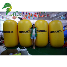 2016 Hongyi Supplier Direct Sales Cheap Custom Yellow Inflatable Water Buoys / 2m Advertising Inflatable Buoy For Water