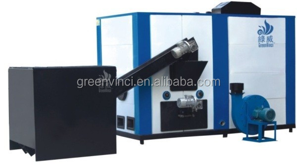 PLC control biomass Hot Water for home use / residential house hold / office / numerical with normal pressure