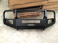 Land Cruiser 90 series Heavy duty steel bumper with LED light bar