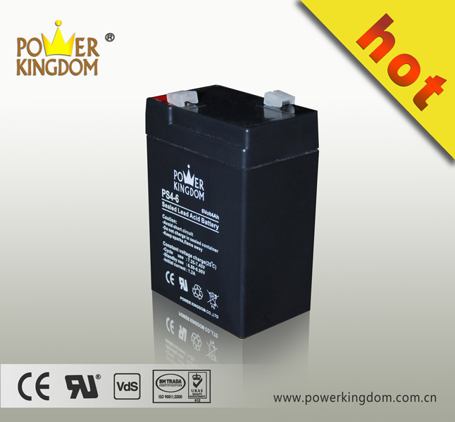 6 volt lead-acid battery storage batteries 6v4ah batteries made in china