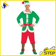 Wholesale Unique Red Green Christmas Costumes