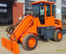 wheel loader with telescopic boom ( telescopic loader )