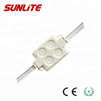 12V 1.44W smd led injection module RGB waterproof