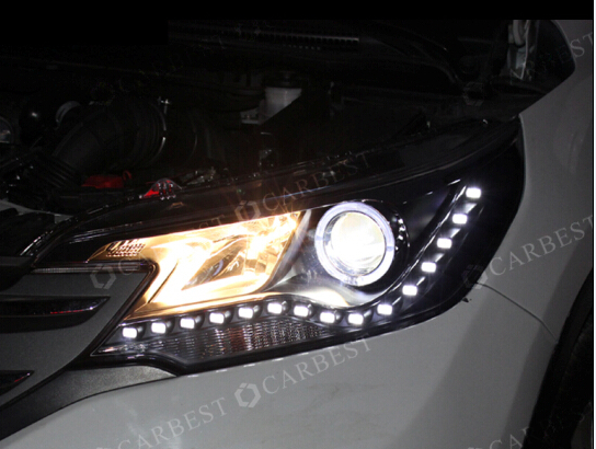 High Quality Top Head Light for HONDA CRV 2012-2014