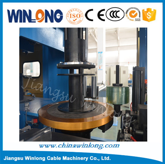 Automatic bobbin winder/Bobbin-Coiling and packing,coil winding machine for optical cable with best price