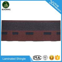 2016 hotsale Laminated asphalt shingles tiles,roof tiles for sales for house design