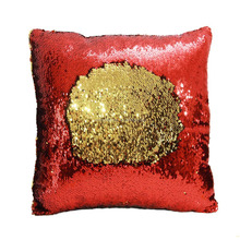 mermaid reversible sequin cushion ,Two Tone Color Changing Sequin Throw Pillow,New hot sell pillow