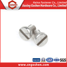 Din 84 Slotted Cheese Head Screw
