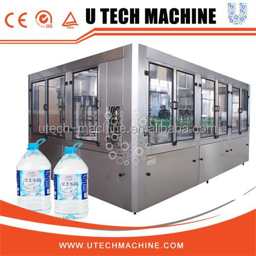 5L bottle water bottle filler machine for sale/complete 5L bottled water production line