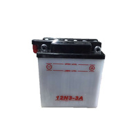 YARUN 12V 3Ah Rechargeable Battery for Motorcycle