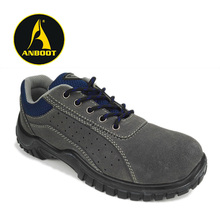 Safety toe puncture resistant Men industrial safety shoes with classic design