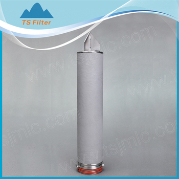 standard Titanium powder sintered filter backwash water filter