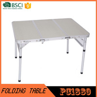 High quality Rectangular Portable Folding Table
