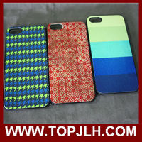 Blank sublimation cases for iPhone 5 plastic/TPU materials